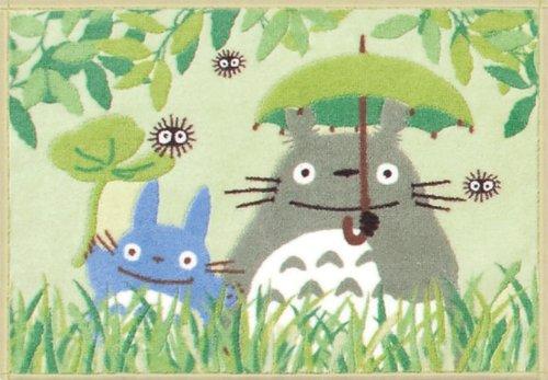 Totoro good friend bath mat 45 x 65 Green (japan import) by Senko