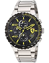Ferrari Men's Quartz Stainless Steel Automatic Watch, Color: Silver-Toned (Model: 830362)