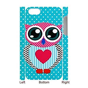 DIY High Quality Case for iPhone 5c 3D, Cut Owl Phone Case - HL- 5c33704