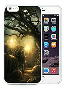 Custom Design Case Cover For Apple Iphone 4/4S Halloween Horror Nights White Case Cover For Apple Iphone 4/4S PC Case 2