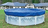 Yard Guard Skirted Blue / Black Reversible Winter Cover with 2-Foot Overlap for 24-Foot Round Above-Ground Swimming Pools