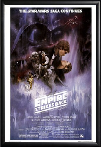 FRAMED Star Wars: The Empire Strikes Back - The Saga Continu