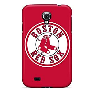 For Ifans Galaxy Protective Case, High Quality For Galaxy S4 Baseball Boston Red Sox 6 Skin Case Cover