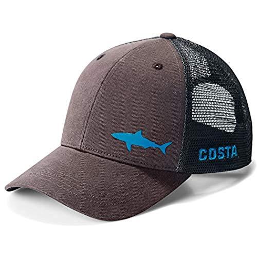 Costa Del Mar Ocearch Blitz Trucker Hat - Charcoal - One Size Fits All (Little Boy Fishing Hat)