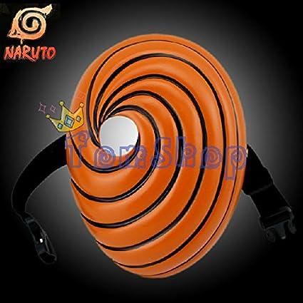 2015 – Anime Naruto Akatsuki Ninja Uchiha Obito Tobi Madara Deluxe Edition máscara disfraz de Halloween