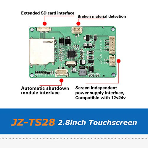 Zamtac 1pc 3D Printer Parts JZ-TS28 2.8inch Full Color Touch Screen Board Compatible with Ramps1.4 MKS Board by GIMAX (Image #6)