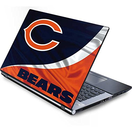 (Skinit NFL Chicago Bears Generic 17in Laptop (15.2in X 9.9in) Skin - Chicago Bears Design - Ultra Thin, Lightweight Vinyl Decal)