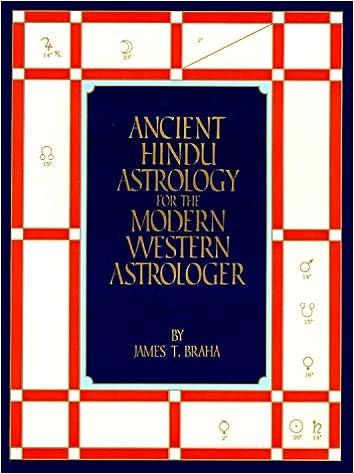 ancient hindu astrology for the modern western astrologer james t