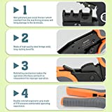 IWISS 5 interchangeable Jaws Crimping tool kit with