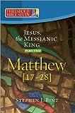 Jesus, the Messianic King, Part 2, Stephen J. Binz, 1585958166