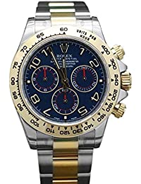 Cosmograph Daytona 40 Blue Dial Stainless Steel and Gold Men's Watch 116503
