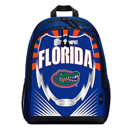 Officially Licensed NCAA Florida Gators Lightning Kids Sports Backpack, Blue ()