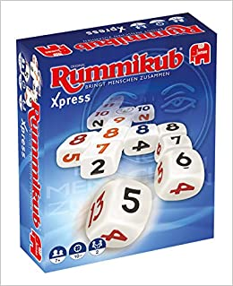 Rummikub Xpress - Juegos de Dados Interior, Cube 6 Sides , 10 min, 7 año s , Niños, Multicolor: Amazon.es: Libros