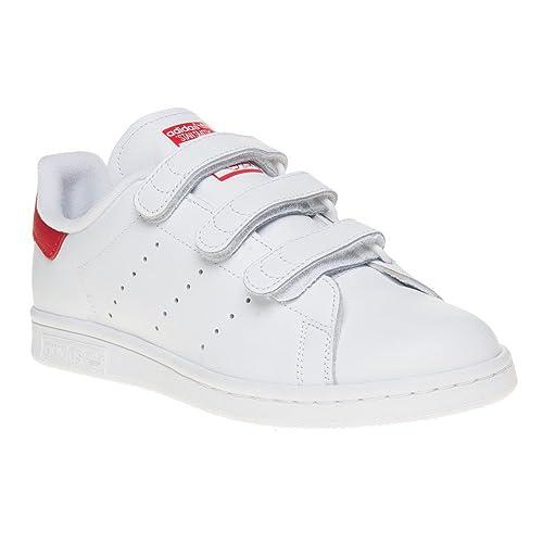 d49e8c72e Adidas Stan Smith Comfort Niña Zapatillas Blanco  Amazon.es  Zapatos y  complementos
