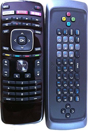 Price comparison product image New! Original VIZIO XRT302 Qwerty keyboard remote for M650VSE M550VSE M470VSE M-GO TV internet TV---60 days warranty!