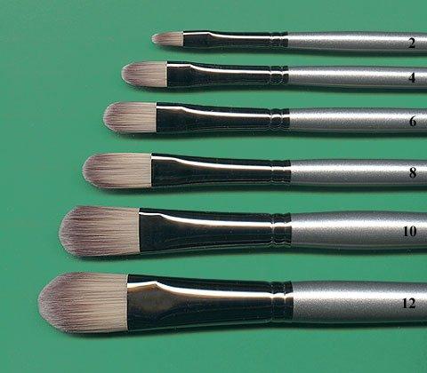Simmons ''Titanium'' Brush- Filbert #12