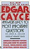 img - for Edgar Cayce Answers Life's 10 Most Important Questions book / textbook / text book