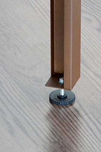 MESA DE CULTIVO Lacada marrón. Medidas: Largo 150cm x Ancho 75cm x ...