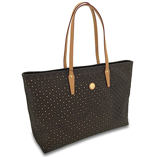 rioni-signature-handcut-brown-leather-canvas-medium-dana-tote-shoulder-bag-handbag
