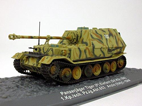 Panzerjager Elefant (Elephant) Tank 1/72 Scale Diecast - Model Pre Built