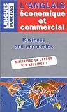 Image de L'Anglais économique et commercial en vingt dossiers