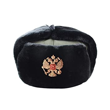 AdronQ Gorra Militar del ejército Ruso Gorra de piloto Gorra de ...