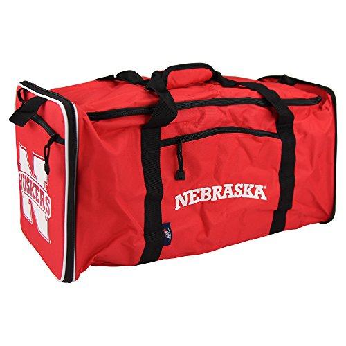 Nebraska Cornhuskers Sport Duffle Bag (NCAA Team Logo Extended Duffle Bag (Nebraska Cornhuskers))
