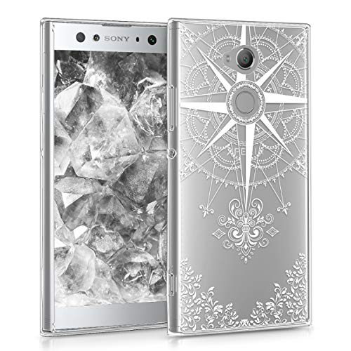 kwmobile TPU Silicone Case for Sony Xperia XA2 Ultra - Crystal Clear Smartphone Back Case Protective Cover - White/Transparent