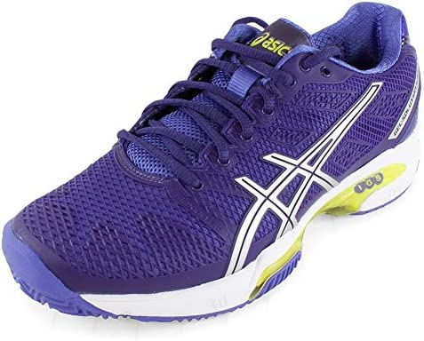 ASICS Womens GEL-Solution Speed 2 Clay Court, Purple/Silver ...
