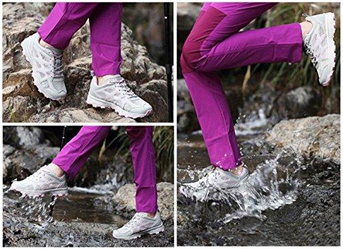 Scarpe Indossare Grigio Outdoor Scarpe Wearable Low Traspiranti Donna Jogging da antiusura Top DANDANJIE da Running xBpdw06qB