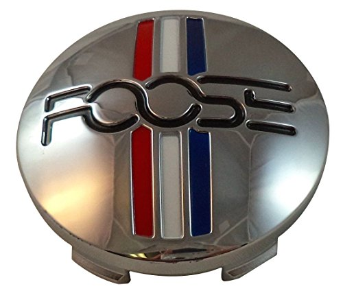 Foose Wheels 1003-41 / M-858 Custom Center Cap Chrome (Set of 4) ()