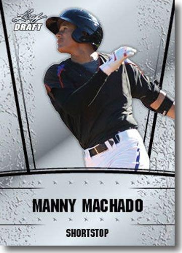 50-Ct Lot MANNY MACHADO 2011 Leaf Draft Silver Rookie Cards Mint RCs by Leaf