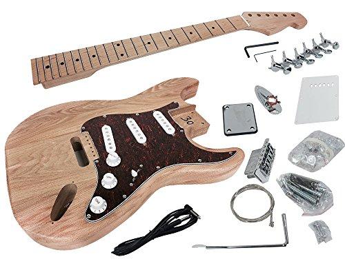 Solo ST Style DIY Guitar Kit, Alder Body, Maple FB