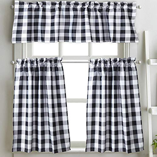 Check Tailored Curtain - 2