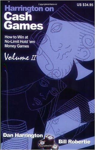 Harrington On Cash Games Volume 2 Pdf