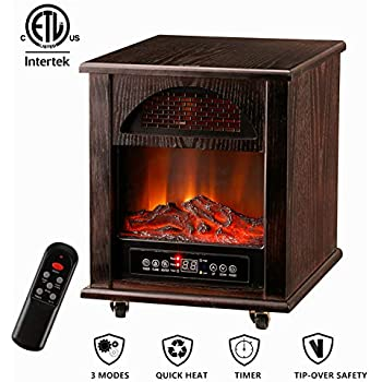 Amazon Com Leisurelife Electric Digital Fireplace Stove