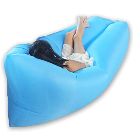 Amazon.com: Xinhuamei - Sillón hinchable, sofá hinchable al ...