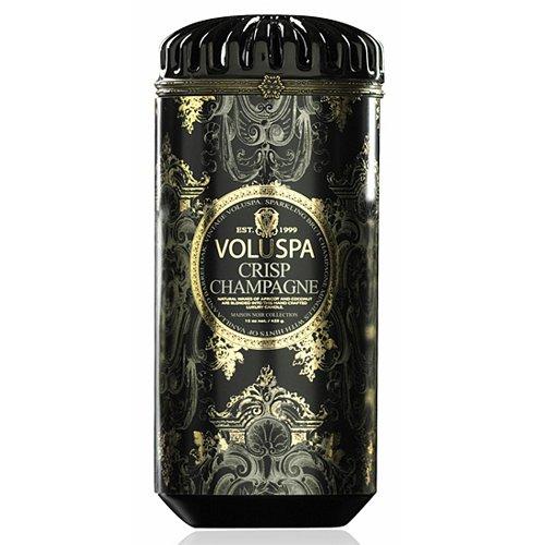Voluspa Maison Noir - Crisp Champagne Ceramic Candle