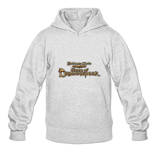 Uitgfgki Men's Baldur's Gate1 Sweatshirt Hoodie XL Light Grey