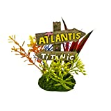 Blue Ribbon Pet Products 006083 Exotic Environments Atlantis And Titanic Sign