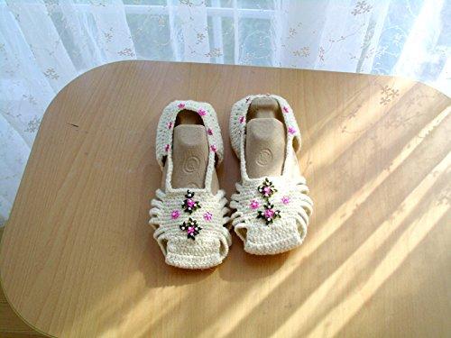 adb093f1862c Women S Crochet Pink Slipper Boots Crochet Slippers - Classy World