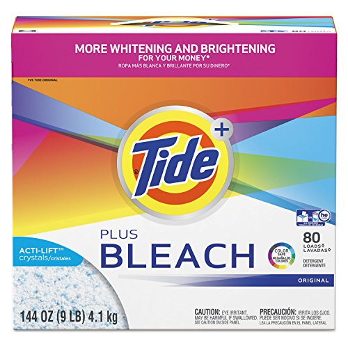 Tide with Bleach Alternative Original Scent Powder Laundry Detergent, 144 Ounce - 2 per case.