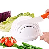 Just New Design Salad Bowl Vegetable Fruit Salad Cutter Bowl -- Finish Your Salad in 60 Seconds