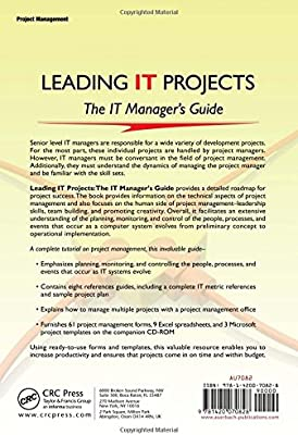 Leading IT Projects: The IT Managers Guide