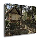 Ashley Canvas, The Chapel Of Holy Cross Stavros Tis Psokas Cypruswith Calabrian Pine Golden, Home Decoration Office, Ready to Hang, 20x25, AG6006832