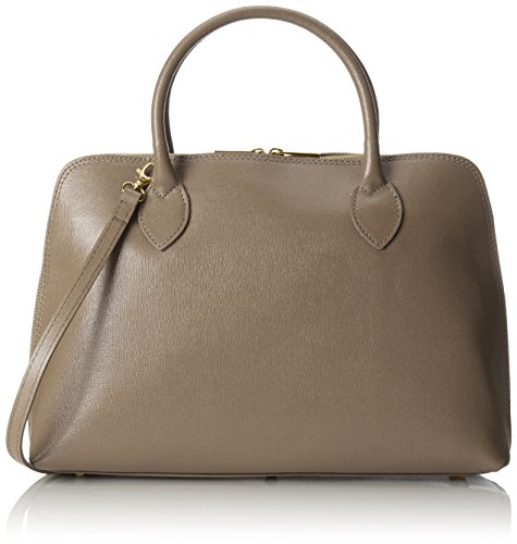 inspider cuir en à main sac femmes Fango Made coup Italy 38x28x10cm CTM Gris in véritable 100 imprimé sac cnqYUyWxv