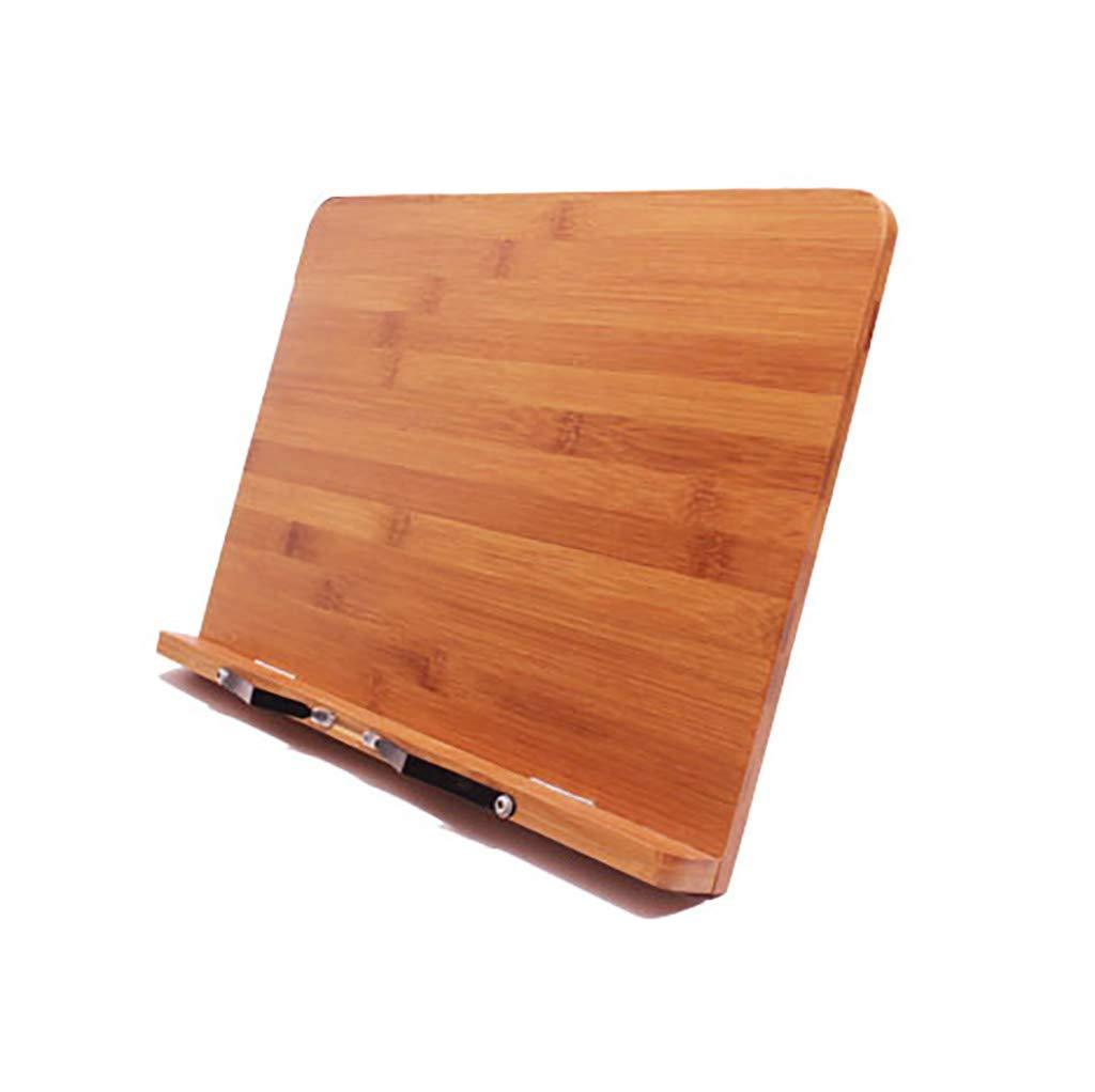 Dispositivo de Lectura Lectura de Reader Book Stand Multifunción de Madera Soporte Creativo para portátil 24227d