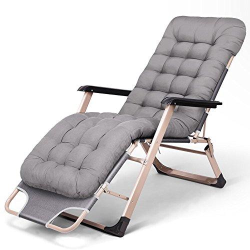 YIZI Sillón reclinable reclinable de una Cama Individual Sillón reclinable de Oficina con cojín de algodón en Nido de...