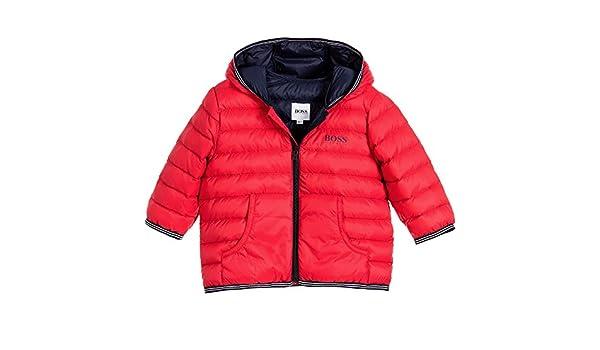 4042fd9355f0 Amazon.com  Hugo Boss Little Boys  Lightly Padded Down Jacket  Clothing