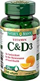Nature's Bounty Vitamin C + D3